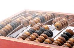 Cadre en bois d'abaque ou de compte images libres de droits