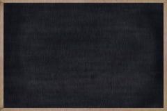 Cadre en bois de tableau avec la surface noire illustration libre de droits