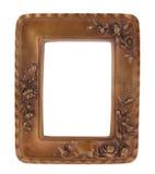 Cadre en bronze Photographie stock
