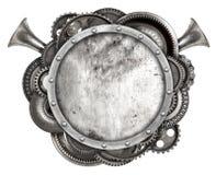 Cadre en métal et vieille voiture automatique de pièces de rechange Photos stock
