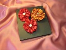 Cadre et bandes de cadeau Image stock