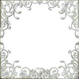Cadre fleuri de flourish Images stock