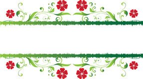 Cadre floral Image stock