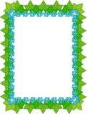 cadre floral Photographie stock libre de droits