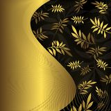Cadre floral abstrait image libre de droits