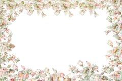 Cadre floral de fête et beau gentil Image libre de droits