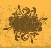 Cadre floral de fond Image stock