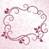 Cadre floral de vintage illustration libre de droits