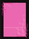 Cadre floral rose illustration libre de droits