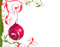 Cadre gauche de Noël photos libres de droits