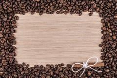 Cadre grunge de café Photographie stock libre de droits