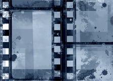 Cadre grunge - grande texture affligée Frontière superficielle par les agents par vintage décoratif de vecteur Grand fond grunge  Image stock
