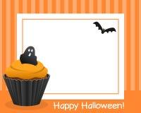 Cadre horizontal de petit gâteau de Halloween [3] Photo libre de droits