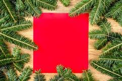Cadre impeccable de Noël photographie stock