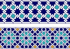 Cadre islamique images stock