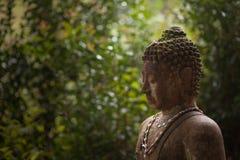 Cadre latéral gauche droite de Bouddha Photo libre de droits
