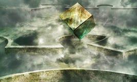 cadre magique Photos stock