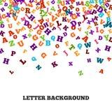 Cadre noir abstrait d'ornement d'alphabet d'isolement sur le fond blanc Photo stock