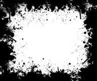Cadre noir et blanc Photographie stock libre de droits