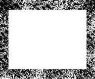 Cadre noir et blanc Images libres de droits