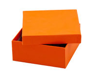 Cadre orange Photos stock