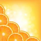 Cadre orange de segment Image libre de droits