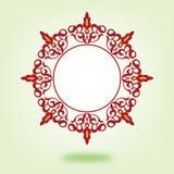 Cadre oriental de cercle Photos stock
