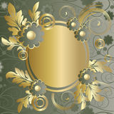 Cadre ovale illustration stock