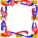 Cadre patriotique Photographie stock libre de droits
