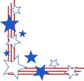 Cadre patriotique Photos libres de droits