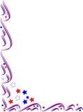 Cadre patriotique de trame illustration de vecteur