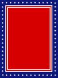 Cadre patriotique Etats-Unis Images stock