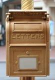 Cadre postal Photos stock