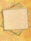 Cadre pour des invitations Image libre de droits