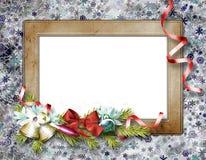 Cadre pour des invitations ou la félicitation Photographie stock