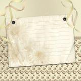 Cadre pour l'invitation Photos libres de droits