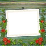 Cadre pour la salutation ou l'invitation Images stock