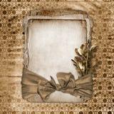 Cadre pour la salutation ou l'invitation. Photo stock