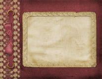 Cadre pour une photo ou des invitations. illustration stock