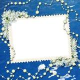 Cadre pour une photo ou une lettre Photographie stock libre de droits