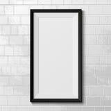 Cadre réaliste d'isolement sur le fond blanc Photo libre de droits