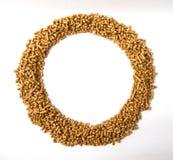 Cadre rond des granules Image stock