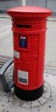 Cadre rouge de poteau Photo libre de droits