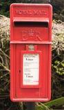 Cadre royal de poteau de courrier photos stock