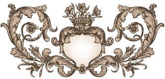 Cadre royal de vintage Image stock
