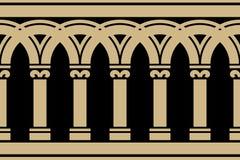 Cadre sans joint gothique illustration stock