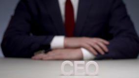 Cadre supérieur à la société commerciale pour la stratégie de développement banque de vidéos