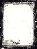 Cadre texturisé de rétro abrégé sur grunge style Image stock