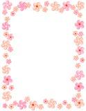 Cadre/trame floraux Photographie stock libre de droits