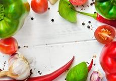 Cadre végétal Photographie stock